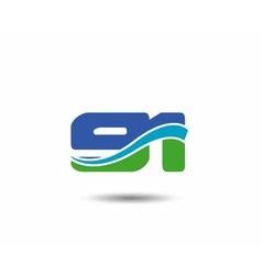 Template logo 91nd anniversary vector