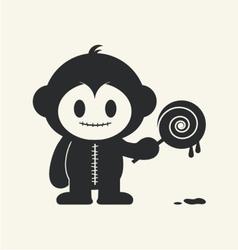 Monkeystein 3 vector image