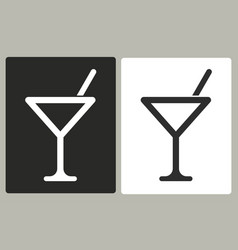 Cocktail - icon vector