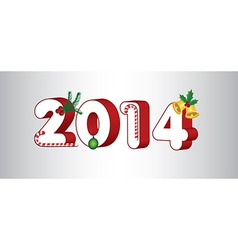 2014 holiday vector image