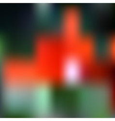 Abstract dark colorful blurred unfocused bokeh vector
