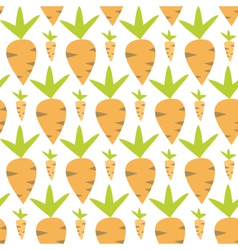 Eastern carrots seamless texture vector image vector image