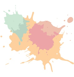 Paint splats background vector