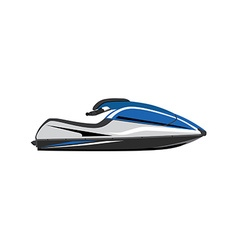 Water scooter vector