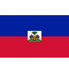 Haiti flag vector