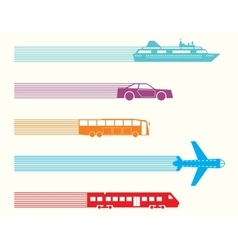 Different kinds of transport vector