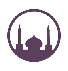 Arabic architecture symbol vector