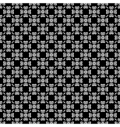 Black and white floral background pattern vector