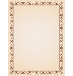 Border frame background template 4 vector