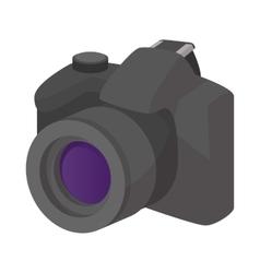 Camera icon cartoon style vector