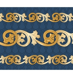 Classic royal style ornament pattern vector image