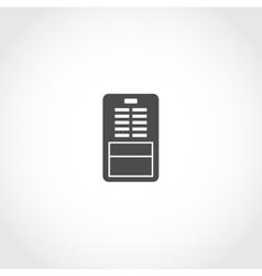 Dehumidifier icon vector image vector image