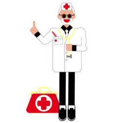 Doctor health care vector