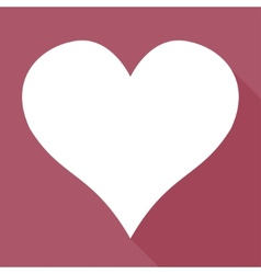 Heart icon medical background love vector