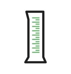 Measuring Cylinder vector image