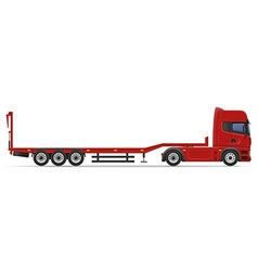 Truck semi trailer 15 vector