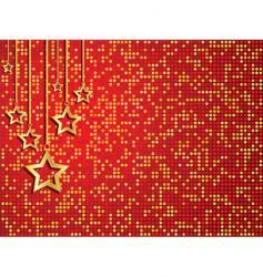 Christmas stars vector image