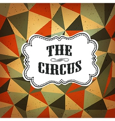 Circus diamond pattern vector