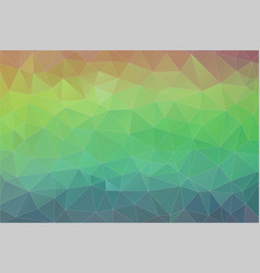 flat retro triangle background colorful mosaic vector image vector image