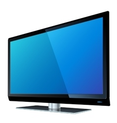 Flat screen tv lcd vector image vector image
