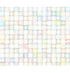 Polygonal tiled backdrop in multiple color vector