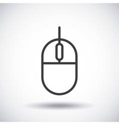 Mouse silhouette icon design graphic vector