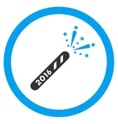 2016 Firecracker Icon vector image
