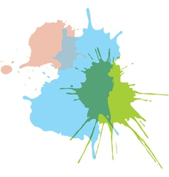 Paint splats vector