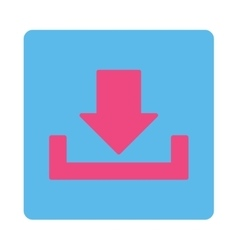 Download flat pink and blue colors rounded button vector