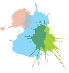 Paint splats vector