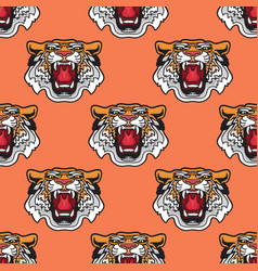 seamless pattern of cartoon vector image