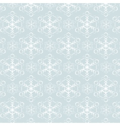 Snowflake pattern background vector
