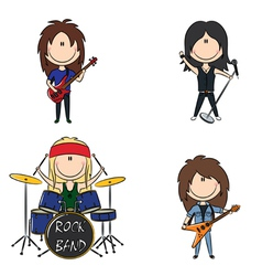 Kid rock band vector