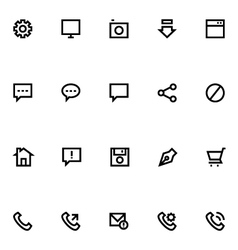 Apple watch icons 4 vector