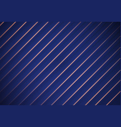 blue striped background paper overlap vector image vector image