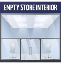 Empty story interior vector image vector image