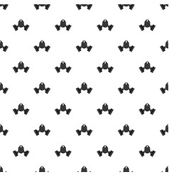 Gas mask pattern vector