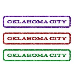 Oklahoma city watermark stamp vector