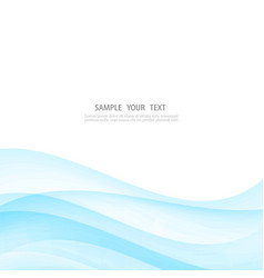 Abstract white background with blue vector