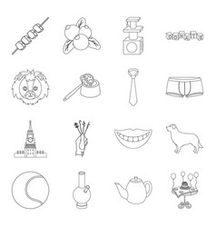 Cooking history travel and other web icon in vector