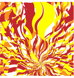 Fire abstract background vector