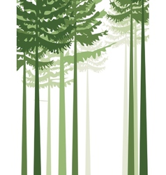trees 2 vector image