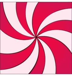 Twirled background vector