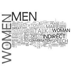 Why men lie and women cry text word cloud concept vector