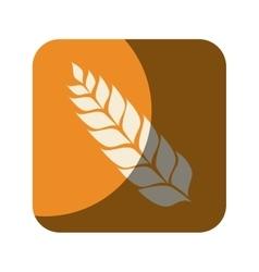 wreath leaf beer icon vector image vector image
