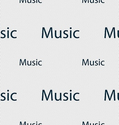 Music sign icon karaoke symbol seamless pattern vector