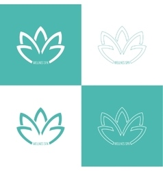 Abstract logo element vector image