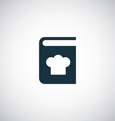 Cooking book icon vector