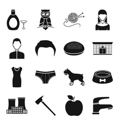 Industry atelier fruit and other web icon in vector