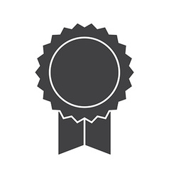 Graduation award insignia icon vector